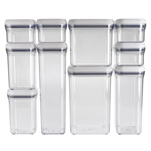 OXO 10-Piece Good Grips Pop Containers Set