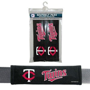 Minnesota Twins Velour Seat Belt Pads at Amazon.com