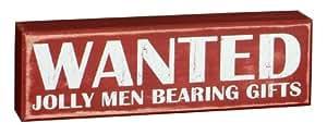 Box Sign - Wanted: Jolly Men