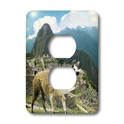 Lsp_87068_6 Danita Delimont - Machu Picchu - Peru, Machu Picchu, Llama - Sa17 Mgl0018 - Miva Stock - Light Switch Covers - 2 Plug Outlet Cover