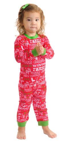 Sleepytimepjs Infant Christmas Pajamas-Red Plaid-18M front-705978