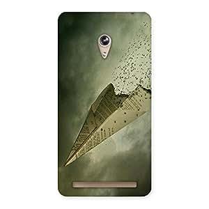 Ajay Enterprises Plane Of Paper Back Case Cover for Zenfone 6