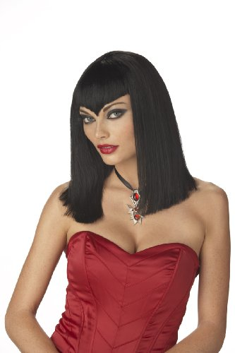 Women's Vampire Wig,Black,One Size