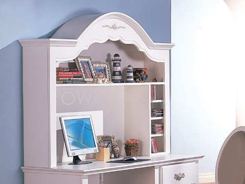 Sophie Bedroom Collection Desk HUTCH - White