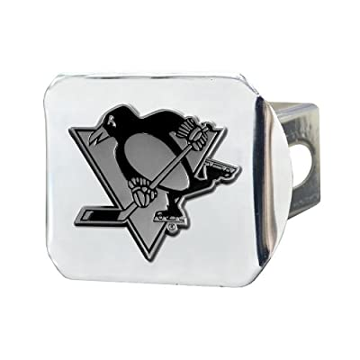 FANMATS NHL Pittsburgh Penguins Chrome Hitch Cover