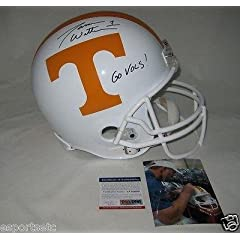 JASON WITTEN signed TENNESSEE VOLUNTEERS Full Size Helmet w Go Vols! - ITP - PSA DNA...