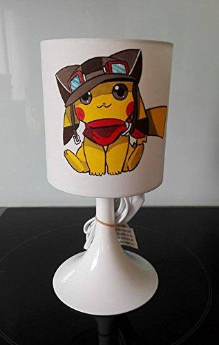 Lmpara-de-noche-o-de-mesa-nios-Pokemon-Pikachu