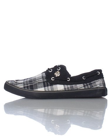 Apple Bottoms Fashion Boat Shoe Black 9