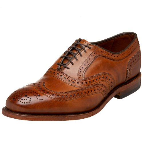 Allen Edmonds Men's McAllister Wing Tip,Walnut,11 D US