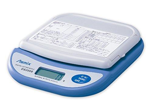 アスカ(Asmix) デジタルスケール 新郵便料金対応 最大計量2kg DS2006