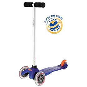 Mini Kick Scooter - BLUE, for kids age 3-5, the quality 3-wheel scooter