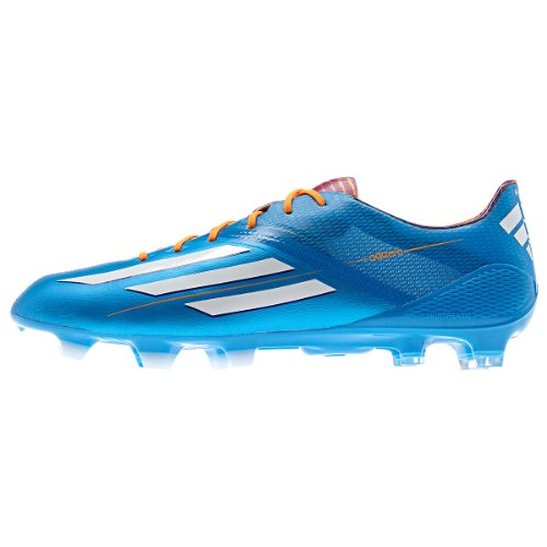 Adidas Mens F50 Adizero Trx Fg Firm Ground Soccer Shoe 12 Us Blue/White/Zest