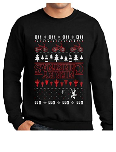 Merry Christmas The Upside Down Ugly Christmas Sweatshirt