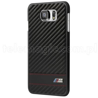 Real BMW M Carbon Effect Collection - Hard Cover Case for Samsung Galaxy S6