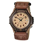 Mens Forester Casual Watch, Brown Cloth/Velcro Band - FT500WVB-5BV