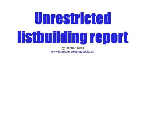 unrestricted-listbuilding-report