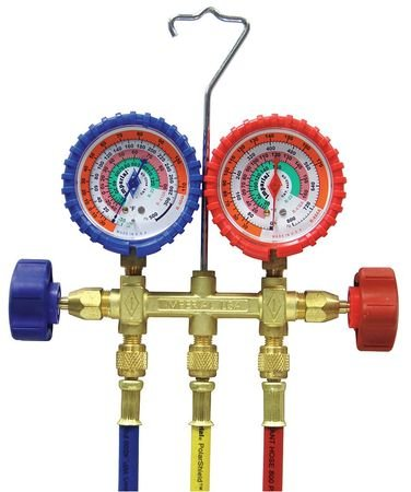Mechanical Manifold Gauge Set, 2-Valve