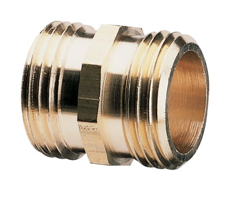 Nelson Industrial Brass Pipe and Hose Fitting for Female Hose to Female Hose, Double Male 50573 (Male Male Hose Connector compare prices)
