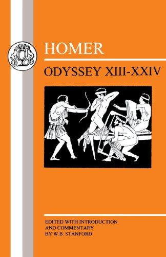 Homer: Odyssey:XIII-XXIV (Bks. 13-24)