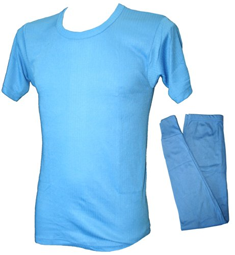 Mens Thermal Twin Pack Short Sleeved Vest & Long Johns Leggings.