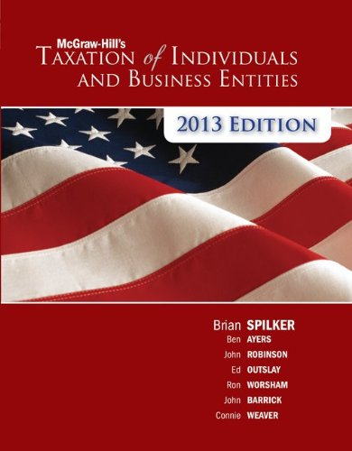 McGraw-Hill's Taxation of Individuals & Business Entities +...