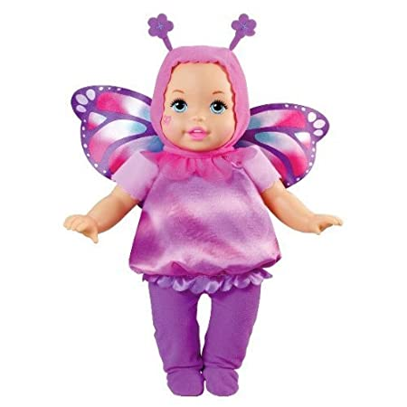 Little Mommy Dress Up Cuties Butterfly Doll by Mattel (English Manual)