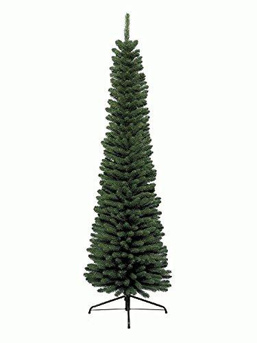 Kaemingk 680064 Pencil Pine, Schlanker Baum, Soft Nadel PVC, innen, Höhe 300 cm thumbnail