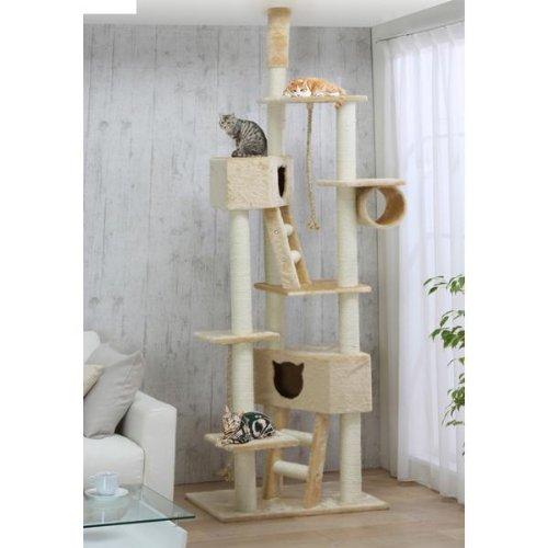 Floor To Ceiling Cat Tower Qq80037 Cat Tree Cat Condo