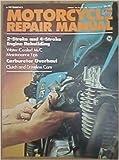img - for Motorcycle repair manual book / textbook / text book