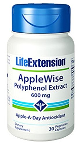 AppleWise Polyphenol Extract 600mg 30 Count (Pack of 2) (Apple Polyphenol Extract compare prices)