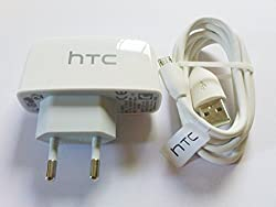 100% Original HTC Charger+USB Data Cable Model:-Tc p450 EU For HTC ALL Model ...