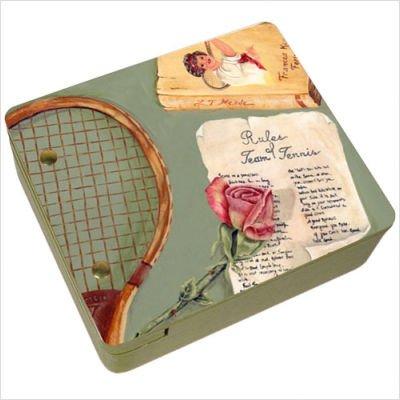 Rules of Tennis Mini Decorative Storage Box