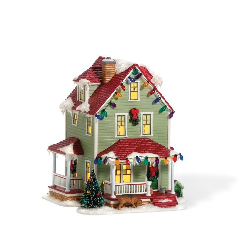 Department 56 Christmas Story Village Bumpus House (Christmas Story House compare prices)