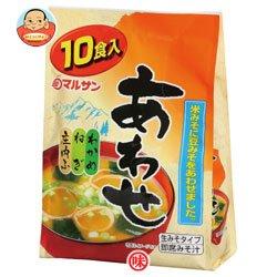 マルサンアイ 即席みそ汁(生みそタイプ)米豆あわせ10食×12(6×2)入