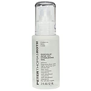 Click to buy Glycolic Acid Skincare: Peter Thomas Roth Hydrating 10% Glycolic Gel from Amazon!
