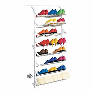 Lynk 24-Pair Over-the-Door Shoe Rack