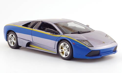 Lamborghini Murcielago LP640, grau/blau, Need For Speed, Modellauto, Fertigmodell, Maisto 1:18