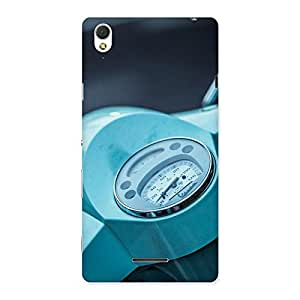 Premium Scooter Meter Multicolor Back Case Cover for Sony Xperia T3