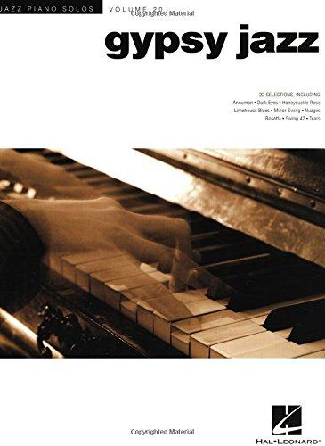 Gypsy Jazz - Jazz Piano Solos Series Volume 20 PDF