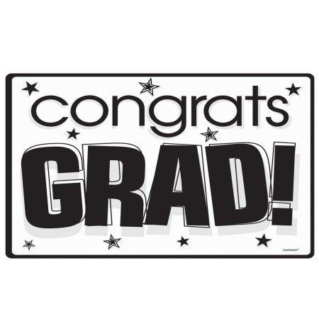Congrats Grad White Mega Pack Cutouts