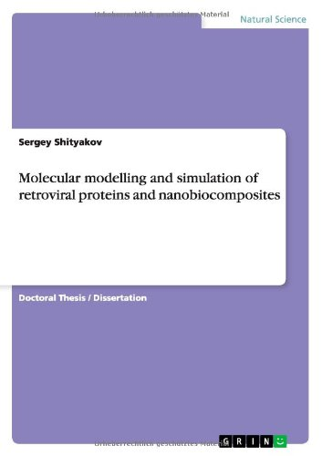 Molecular Modelling And Simulation Of Retroviral Proteins And Nanobiocomposites