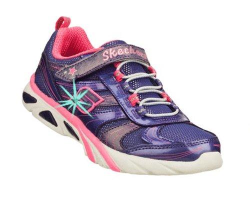 Skechers Kids 10374L Lite Gemz Tennis Shoe,Purple/Pink,10.5 M Us Little Kid front-898171