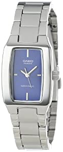 Casio Women's LTP1165A-2C Classic Sleek Silver-Tone Analog Watch