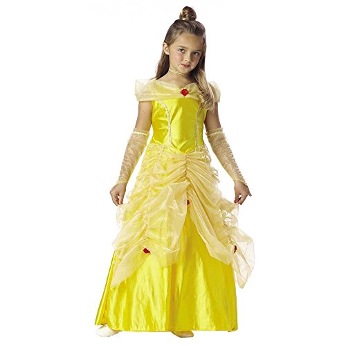 Child's Princess Belle Costume (Size:Small 6-8)
