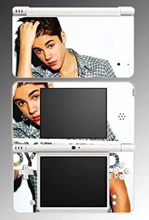 Justin Bieber Boyfriend Baby Game Vinyl Decal Cover Skin Protector 30 for Nintendo DSi XL