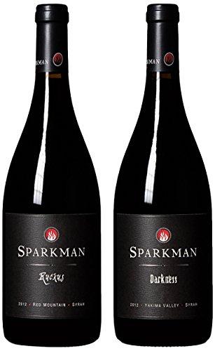 "Sparkman Cellars ""2012 Washington Syrah Ava Tasting Pack"" Mixed Pack 2 X 750 Ml"