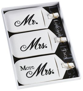 Lillian Rose-Mr. and Mrs. Luggage Tags