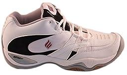 Ektelon Men\'s T9 Roadster Mid (Wide) (EE) Racquetball/Squash/Volleyball Indoor Court Shoes (Non-Marking) 11.5 (EE)(M) U.S.
