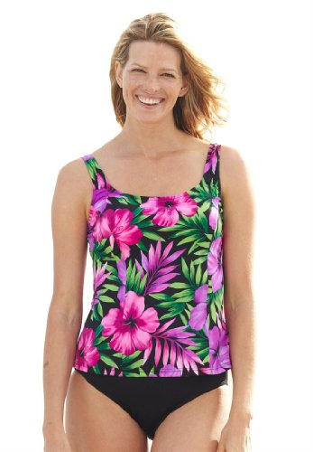 swimwear tankini: Swim 365 Plus Size Swimsuit, Perfect ...