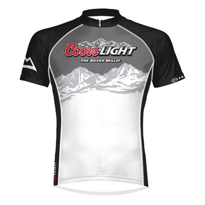 Image of Primal Wear Coors Light Beer Summit Cycling Jersey Men's Short Sleeve (B0060YB3LK)